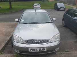 Ford Mondeo, 2006 (06) Silver Hatchback, Manual Diesel, 135,405 miles