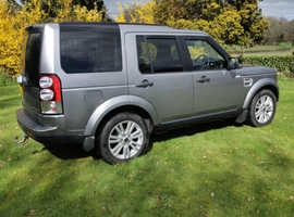 Land Rover Discovery, 2013 (13) grey estate, Automatic Diesel, 115,000 miles