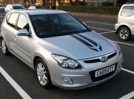 Hyundai i30, 2009 (09) Silver Hatchback, Manual, Petrol.