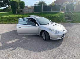 Toyota Celica, 2002 (02) Silver Coupe, Manual Petrol, 114,102 miles
