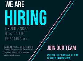 WE ARE HIRING !! Experienced Qualified Electrician