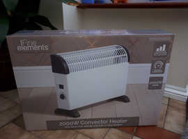 2000w convector heaters x2