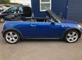 Mini MINI, 2005 (05) Blue Convertible, Manual Petrol, 112,951 miles