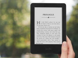 Kindle Black Touchscreen Display, Exclusive Kindle Software, Wi-Fi 4GB eBook
