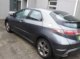 Honda Civic, 2011 (11) Grey Hatchback, Semi auto Petrol, 19,000 miles