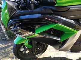 Kawasaki er6f 2016 extremely low mileage