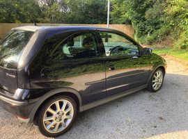 Vauxhall Corsa, 2006 (06) Black Hatchback, Manual Petrol, 94,600 miles 11 month MOT