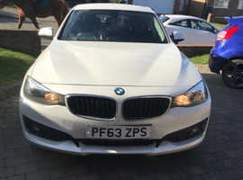 BMW 3 Series, 2014 (63) White Hatchback, Manual Diesel, 55,736 miles