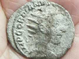 Genuine Roman Silver Denarius of GORDIAN III