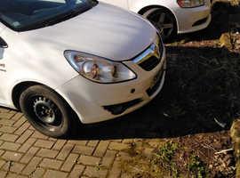 Vauxhall Corsa, 2010 (10) White Hatchback, Manual Petrol, 134,000 miles