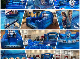 Bouncy castle and softplay fun