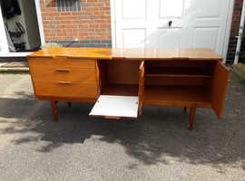 Solid teak sideboard