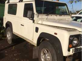 Land Rover DEFENDER 110 COUNTY TD5, 2001 (51), Manual Diesel, 87,000 miles