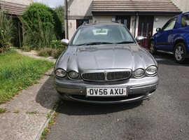 Jaguar X-TYPE, 2006 (56) Grey Estate, Manual Diesel, 223,261 miles