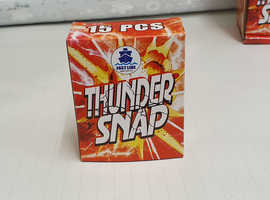 THUNDER SNAPS 75- 4 boxes LOUD banger. Throw for fun, FUN FOR KIDS AND ADULTS