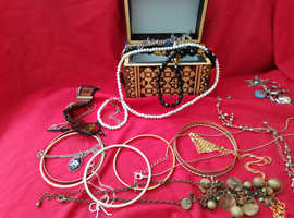 Eastern European Treasure chest jewellery box