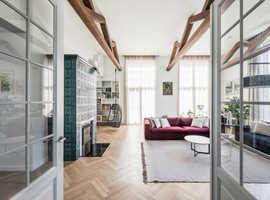 Oak Herringbone Parquet Flooring