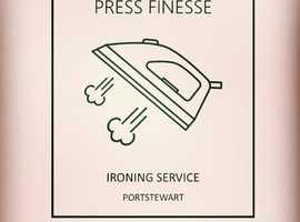 Press Finesse Ironing Service