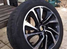 Citroen DS4 Alloy Wheel with Tyre
