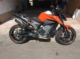 KTM 790 Duke, low miles, excellent condition, great bike to ride.