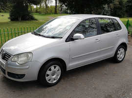 VW POLO 1.4L, 2006 REG,  LONG MOT , LOW MILEAGE ONLY 71,000, NICE SPEC  WITH ALLOYS & AIR CON