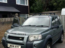 Land Rover Freelander, 2004 (04) Green Estate, Automatic Diesel, 135,000 miles