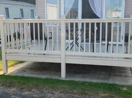 8 berth 3 bedroomed caravan for rent