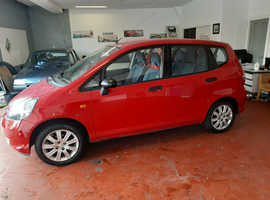 Honda Jazz, 2007 (07) red hatchback, Manual Petrol, 76000 miles