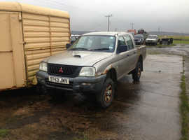 MITSUBISHI L200 4X4 4WORK  ONLY 10,000 MILES FROM NEW.