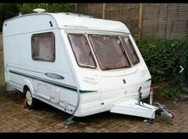 Abbey freestyle 2004 400 SE 2 birth caravan cris registered