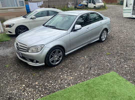 Mercedes C CLASS, 2008 (58) Silver Saloon, Automatic Diesel, 123,208 miles