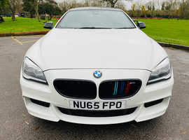 BMW 6 Series, 2015 (65) White Coupe, Automatic Diesel, 69,600 miles