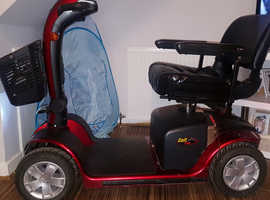 Pride Colt Mobility Scooter Red