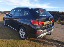 BMW X1, 2011 (11) Black Estate, Manual Diesel, 101,000 miles