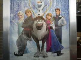 Frozen Framed poster, brend new