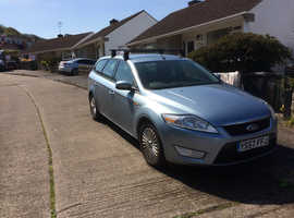 Ford Mondeo, 2008 (57) Blue Estate, Automatic Diesel, 101,000 miles