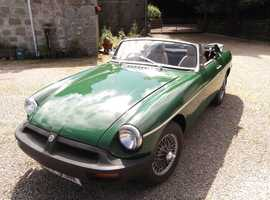 mgb 1975 tax and mot exempt good condition