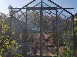 10 x 8 Hercules Blenheim Greenhouse
