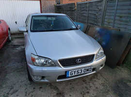 Lexus Is, 2003 (53) Silver Saloon, Automatic Petrol, 138,560 miles