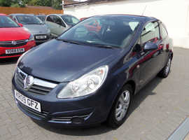 Vauxhall Corsa, 2009 (09) Blue Hatchback, Manual Petrol, 87,000 miles