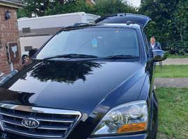 Kia Sorento, 2007 (57) Black Hatchback, Manual Diesel, 117,780 miles