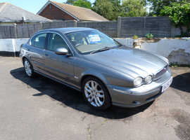 Jaguar X-TYPE, 2006 (06) Grey Saloon, Manual Diesel, 120,760 miles