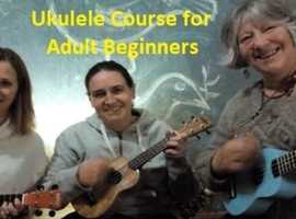 Beginners ukulele course for adults (A SEVEN WEEK COURSE)