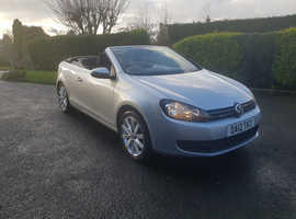 Volkswagen Golf, 2012 (12) Silver Convertible, Manual Diesel, 86,902 miles