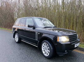 REDUCED ... Land Rover Range Rover, 2010 (60) Black Estate, Automatic Diesel, 102,000 miles