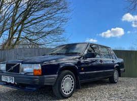 Volvo 740 GL, 1989 (F) Blue Saloon, Manual Petrol, 111,925 miles