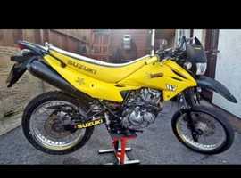 Suzuki dr 125 super moto  12months mot