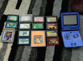 Nintendo Gameboy SP good condition with games