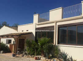 Costa Blanca Superb 3 bed 2 bath Country House with a 2 bed 1 bath Guest House + Olive Orchard + Pool +Outdoor Kitchen and More