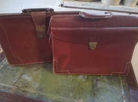 vintage retro briefcases x2 Collection Cambs